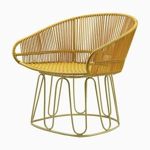 Honey Circo Lounge Chair by Sebastian Herkner
