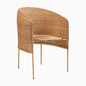 Caribe Natural Lounge Chair by Sebastian Herkner