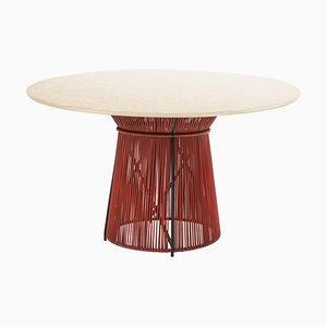 Tavolo da pranzo Caribe Chic in marmo di Sebastian Herkner