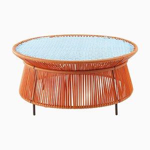 Orange Mint Caribe Low Table by Sebastian Herkner