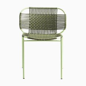 Olive Cielo Stacking Chair by Sebastian Herkner