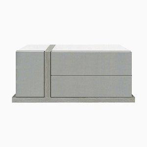 Oak Elam Low Cabinet by LK Edition, Set of 2