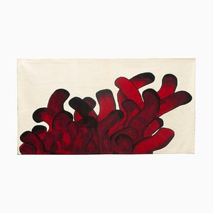 Red Anemone Rug by François Dumas