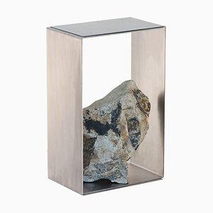 Stahl und Stein Beistelltisch von Batten and Kamp