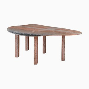 Pear Marble Coffee Table by Lorenzo Bini