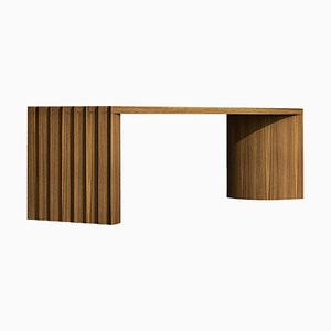 Unique Oak Bench by Collector