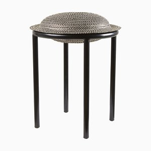 Black Cana Stool by Pauline Deltour