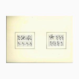 Inchiostro sconosciuto, Army of Musical Notes, metà XX secolo