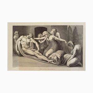 The Deposition, Original Radierung nach Heinrich Fuseli, 1791