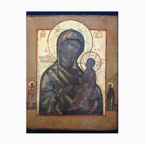 Ancient Old Believer Icon of the Mother of God