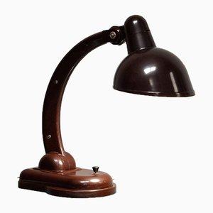 Bakelit Tischlampe von Christian Dell für Heinrich Römmler, 1930er