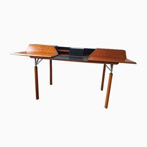 Postmoderner ausziehbarer Schreibtisch von Giorgetti, Italien, 1980er