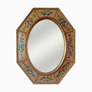 Achteckiger Spiegel im venezianischen Stil