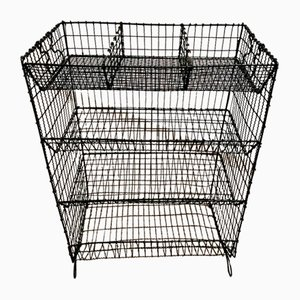 Antique Victorian Wirework Vegetable Rack from Ripping Gilles