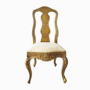Baroque Gilt Chair, 18th Century