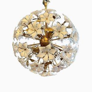 Large Flower Sputnik Ceiling Lamp