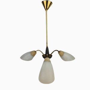 Vintage Rockabilly Sputnik Ceiling Lamp, 1950s