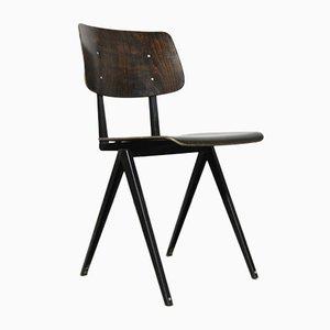 Vintage Industrial S16 School Chair from Galvanitas Oosterhout, the Netherlands, 1960s