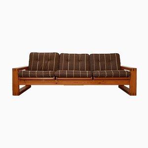 Large Mid-Century Swedish Pine Sofa by Yngve Ekstrom
