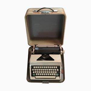 Olympia Monica Schreibmaschine mit Koffer, 1960er
