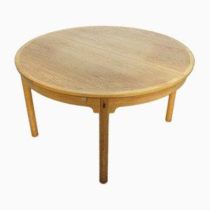 Ausziehbarer Vintage Modell 140 Tisch aus Eiche von Borge Mogensen für Karl Andersson & Söner, 1960er