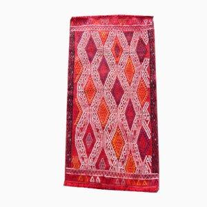 Small Antique Turkish Handmade Kilim Runner Rug