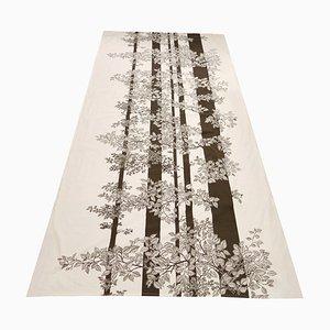 Large Danish Tree Textile Art Print, 1970s