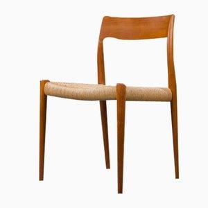 Vintage Model 77 Dining Chair by Niels Otto Møller for JL Møllers, 1960s