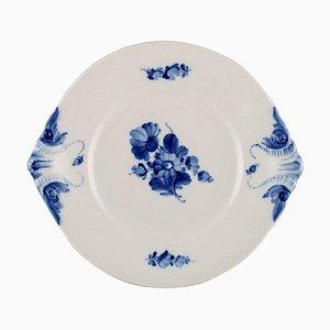 Royal Copenhagen Blue Flower Braided Dish, 1962