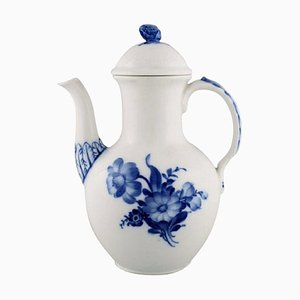 Royal Copenhagen Model Number 10/8189 Blue Flower Braided Coffee Pot