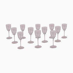 Saint Louis Glasses Service, Set of 12