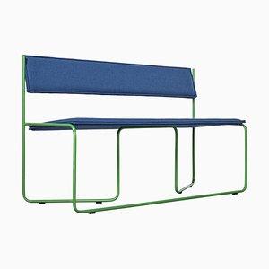 Blue Trampoline Bench by Four Quatros
