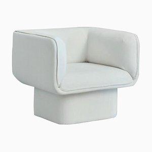 Blue Block Armchair by Mut Design