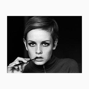 Twiggy, Eyeliner, 20th Century Photography, 1967