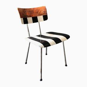 Vergangenheit Schmiedet Zukunft Galvanized Chair by Wim Rietveld