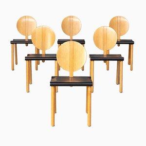 Fiona Chair by Gigi Sabadin for Crassevig, 1970s, Set of 6