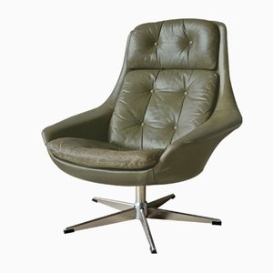 Danish Swivel Chair by H. W. Klein for Bramin, 1960s