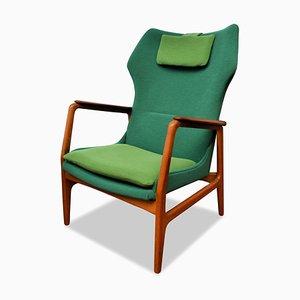 Vintage Danish Teak Lounge Chair by Aksel Bender Madsen for Bovenkamp
