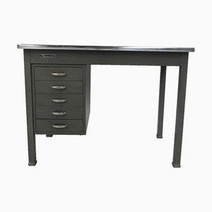 Industrieller Schreibtisch aus Stahl von Remington Rand