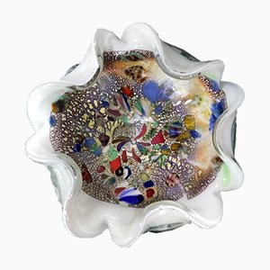 Mid-Century Murano Glas Aschenbecher oder Schale von Dino Martens für Avem