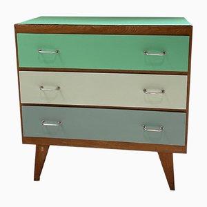 Vintage Tricolor Dresser