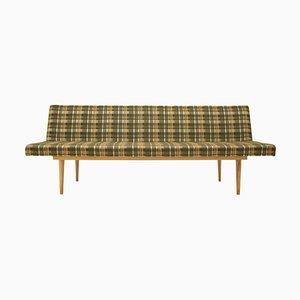 Beech Minimalist Sofa/Daybed by Miroslav Navratil, Czechoslovakia, 1960s