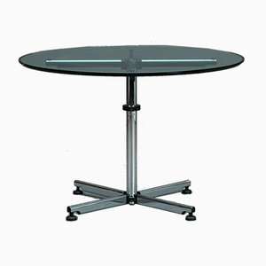 Kitos Round Glass Table from USM Haller