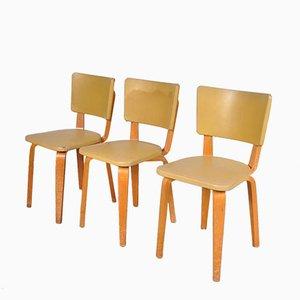 Chaises de Salon par Cornelius Louis Alons pour Gouda de Boer, 1950s, Set de 3