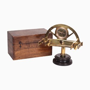 Graphometer with Compass Stanley from Geodesy, London