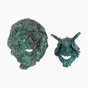 Terracotta Sculptures, Set of 2