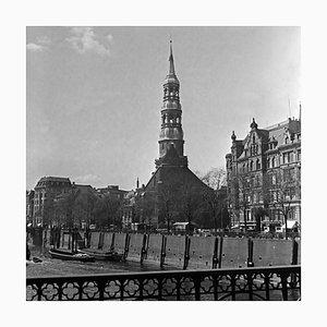 St. Catherine's Church at Hamburg, Germany 1938, Printed 2021