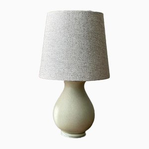 Stoneware Table Lamp from Gustavsberg, 1940s