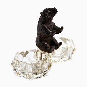 Antique Victorian Carved Black Forest Bear