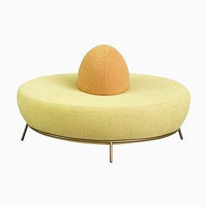 Rundes Nest Sofa mit Rückenlehne von Paula Rosales